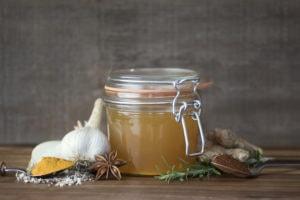 Настойка из чеснока и меда