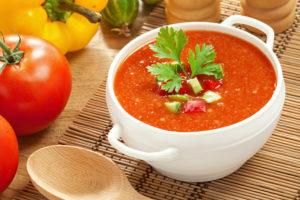 Томатный суп гаспачо