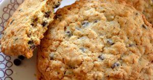 Вкусное овсяное печенье с корицей