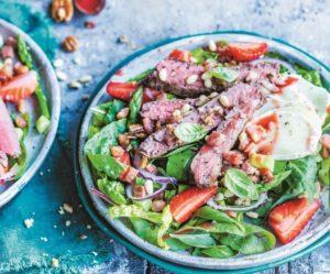 Салат с дижонской горчицей