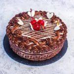 Готовый торт - красивое оформление