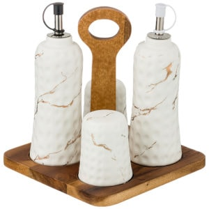 Набор для соли, перца и оливкового масла