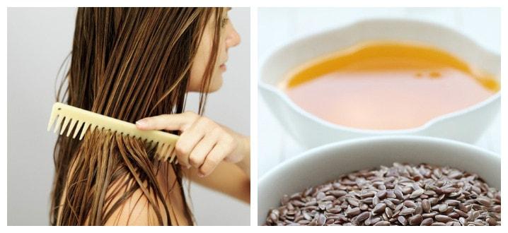 Польза льняного масла для волос
