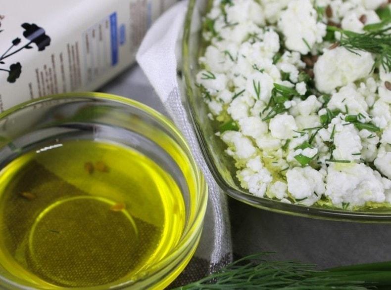 Рецепты блюд с льняным маслом