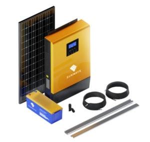 Солнечные батареи - автономный блок