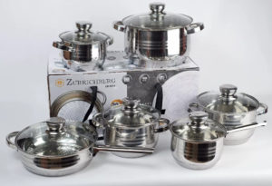 Кухонная посуда - набор кастрюль
