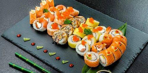 Суши, роллы -красивая подача