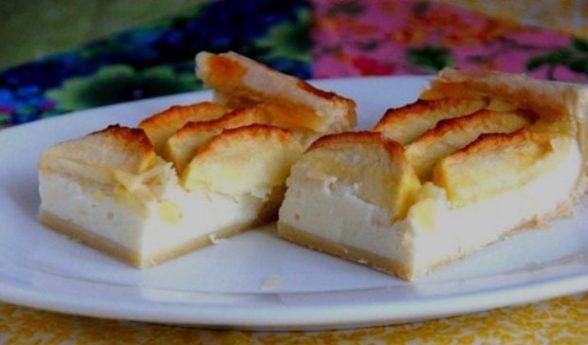Рецепты пирога с яблоками и творогом